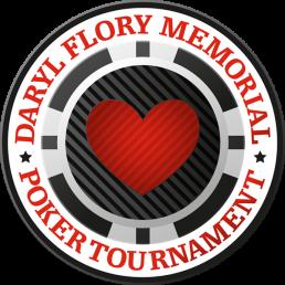 Daryl Flory Memorial Poker Logo